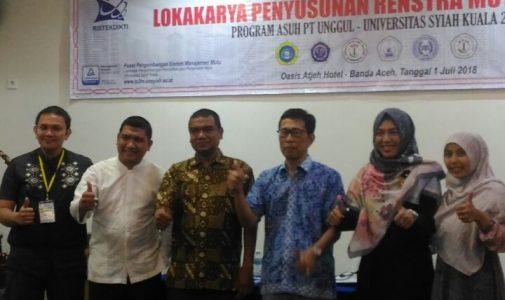 Prodi S-1 PMAT STKIP BBM Terpilih Sebagai Prodi Asuh Unsyiah