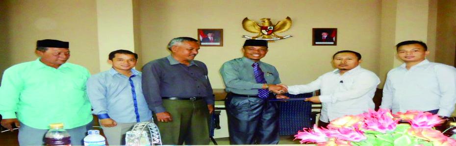 STKIP Bina Bangsa Meulaboh jalin kerjasama dengan DPRK Nagan Raya
