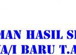 PENGUMUMAN KELULUSAN SELEKSI MAHASISWA/I BARU T.A 2017-2018