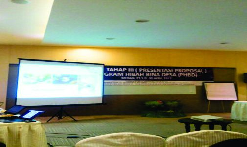 PRESENTASI PROPOSAL PROGRAM HIBAH BINA DESA