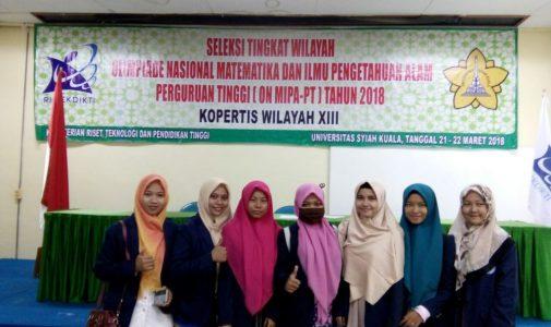Seleksi ON MIPA-PT Tahun 2018