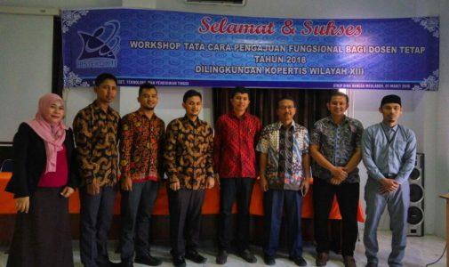 Workshop Tata Cara Pengajuan Fungsional Bagi Dosen Tetap