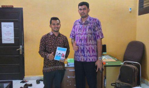 Dosen STKIP BBM dan Kadis Aceh Besar Bahas Kerjasama Buku Ajar