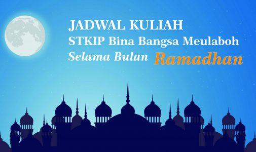 Jadwal Perkuliahan Selama Ramadhan