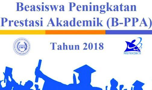 Penerimaan Beasiswa PPA Tahun 2018