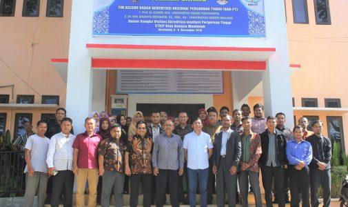 Tim Asesor BAN PT Memvisitasi Kampus STKIP Bina Bangsa Meulaboh