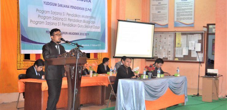 Yudisium Sarjana Pendidikan STKIP Bina Bangsa Meulaboh 2019