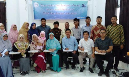 Rapat Mengajar Semester Genap Tahun Ajaran 2018/2019