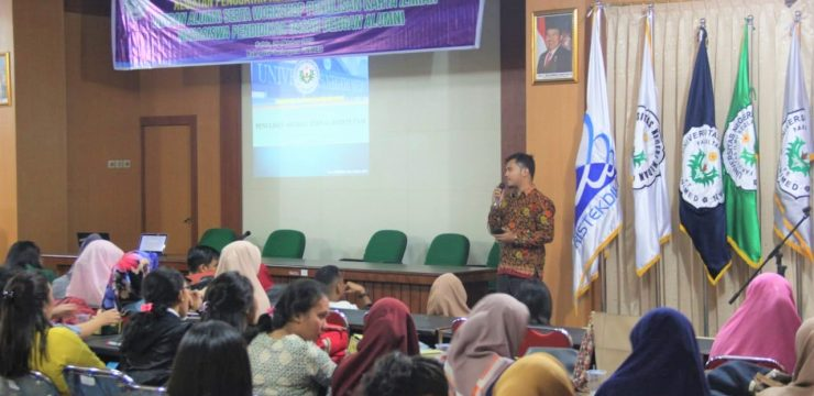 Dosen STKIP Bina Bangsa Meulaboh Berikan Motivasi Kepada Mahasiswa dan Alumni Pascasarjana Universitas Negeri Medan