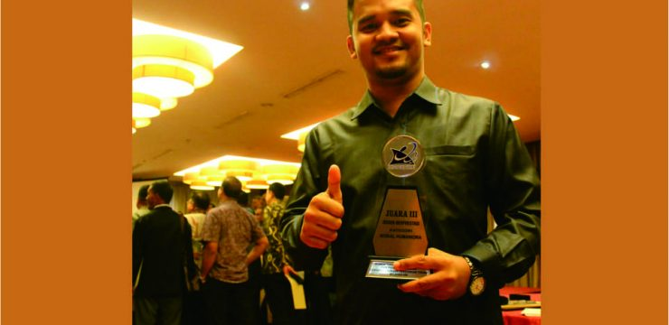 Dosen STKIP BBM Menerima Penganugerahan Dosen Berprestasi Kategori Sosial Humaniora Seaceh