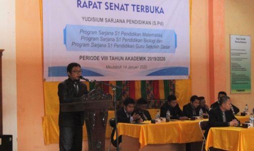 Yudisium STKIP Bina Bangsa Meulaboh Periode VIII 2019/2020