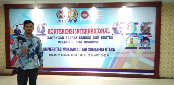Dosen STKIP Bina Bangsa Meulaboh Menjadi Pemakalah pada International Conference