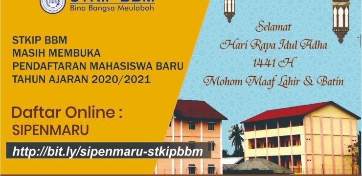 Pendaftaran mahasiswa baru masih terbuka, Selamat Hari Raya Idul Adha 1441 H