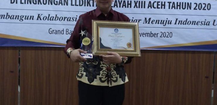 Dosen STKIP BBM Meraih Juara III Dosen Berprestasi Tingkat LLDIKTI Wil XIII Aceh Tahun 2020