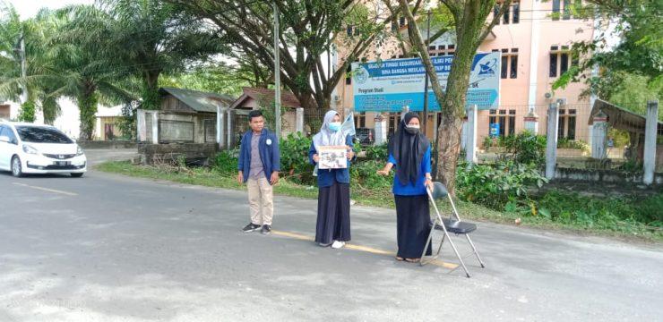 Mahasiswa STKIP BBM Menggalang Dana untuk Korban Banjir Bandang Aceh Utara